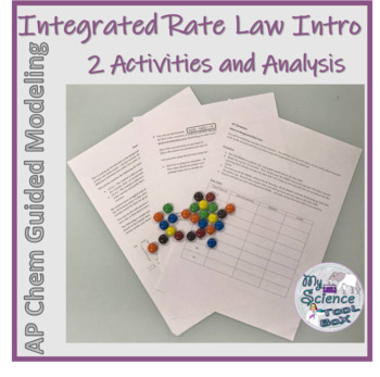 Intro to Integrated Rate Law with 2 hands on activities for AP Chemistry