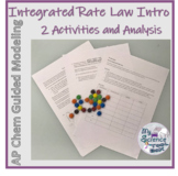 Intro to Integrated Rate Law with M&M half life activity