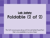 Intro to Lab Safety: Foldable