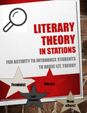 Intro to Literary Criticism Stations Activity
