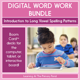 Intro to Long Vowel Spelling Patterns - Digital Phonics Activities | BOOM Cards™
