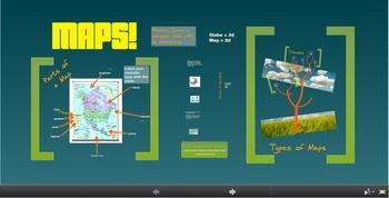 Intro to Maps Prezi with Handout