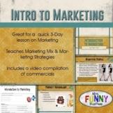 Intro to Marketing & Marketing Strategies
