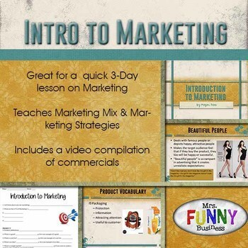 Intro to Marketing & Marketing Strategies