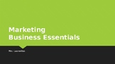 Intro to Marketing PowerPoint
