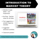 Intro to Marxist Theory - PPT, Teacher Notes, Suggested Te