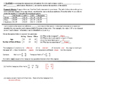 Intro to Matrices Guided Notes plus independent Worksheet Discrete Math