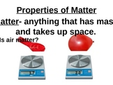 Intro to Matter (Substances vs. Mixtures)