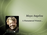 Intro to Maya Angelou PowerPoint