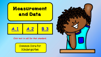 Intro to Measurement and Data for Kindergarten