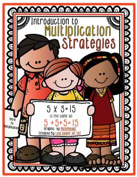 Multiplication Strategies-Worksheet-Flipbook-Visuals-Times