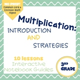 Intro to Multiplication and Strategies (enVision Topic 5) scaffolded notes