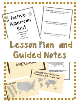 Intro to Native Americans *FREEBIE*