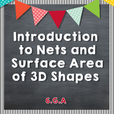Intro to Nets and Surface Area of 3D Shapes - Triangular P