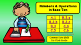 Numbers & Operations in Base 10 for First Grade (Common Core)