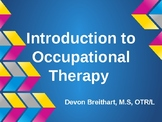 Intro to OT for High School Students Presentation