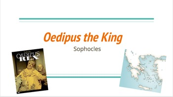 Intro to Oedipus Rex/the King Powerpoint
