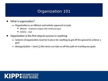 Intro to Organization