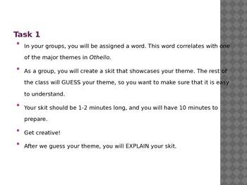 Intro to Othello