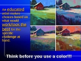 Intro to Painting and Color Theory powerpoint
