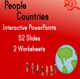 Describing People Interactive Whiteboard PowerPoints and P