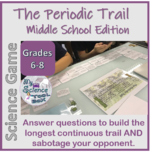 Intro to Periodic Table - Game (and trivia) for middle school