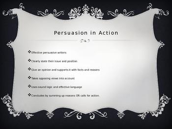Intro to Persuasive Rhetoric
