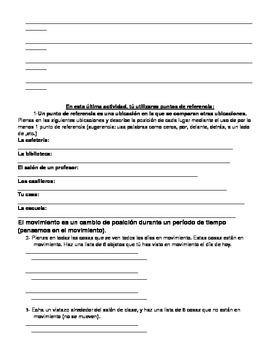 Intro to Physics Guided Notes & Activities (DUAL LANGUAGE SPANISH)