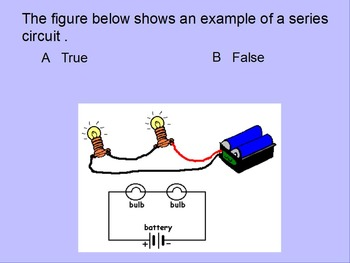 """Intro. to Physics Lesson I - III ActivInspire Review """"Electricity & Circuits"""""""