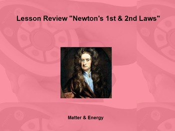 """Intro. to Physics Lesson II ActivInspire Review """"Newton's"""