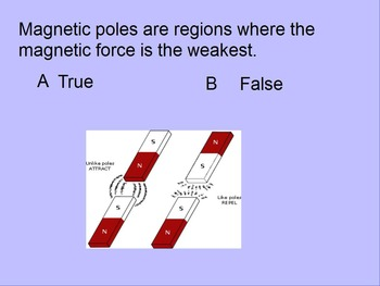 """Intro. to Physics Lesson IV ActivInspire Review """"Magnets & Magnetic Fields"""""""