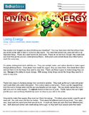 Intro to Plants, Living Energy - Engaging Science Reading