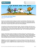 Intro to Plants, The Birds and the Bees - Engaging Science Reading