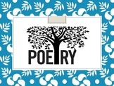 Intro to Poetry & Slam Poetry!!