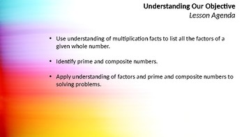 Intro to Prime and Composite Numbers (5.4A TEK)