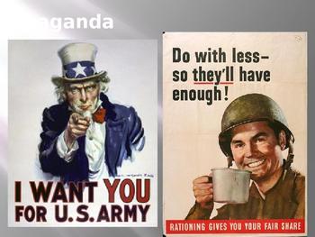 Intro to Propaganda, Bandwagon, and Testimonials PowerPoint