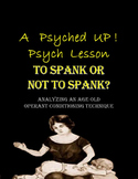 Intro to Psych: Operant Conditioning & Spanking Debate/Research Paper