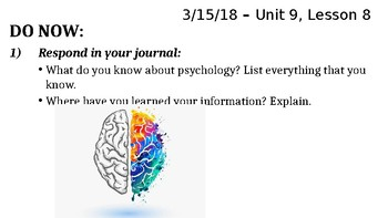 Intro to Psych PPT