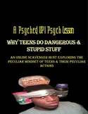 Intro to Psych: Teens & The Effects of Egocentric Thinking