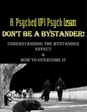 Intro to Psych: Understanding & Overcoming the Bystander Effect
