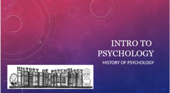 Intro to Psychology - History of Psychology Lesson