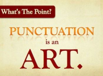 Intro to Punctuation