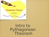 Intro to Pythagorean Theorem