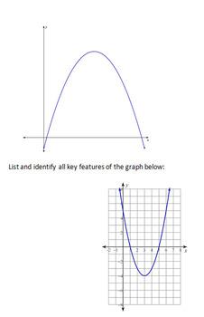 Intro to Quadratics Foldable
