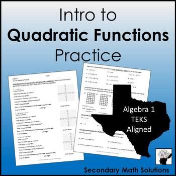Quadratics Practice (A7A)