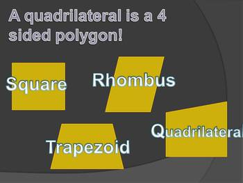 Intro to Quadrilaterals Powerpoint