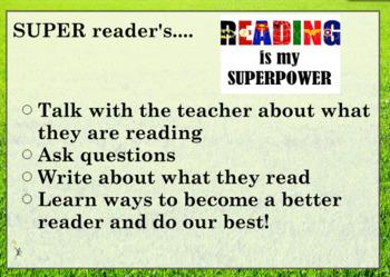 Intro to Reader's Workshop Flipchart