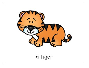 Intro to Reading Sight Word - A (Animals) *TEACHER EDITION*