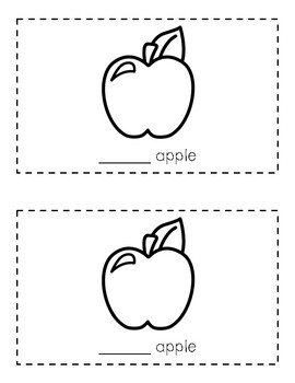 Intro to Reading Sight Word Books - AN (Food)