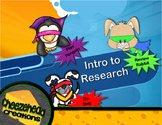 Intro to Research Mini-Lesson & Powerpoint - Primary Grades